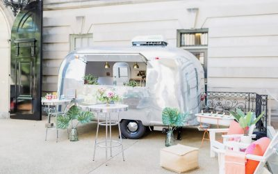 aluminum camper with chairs 400x250 - West End