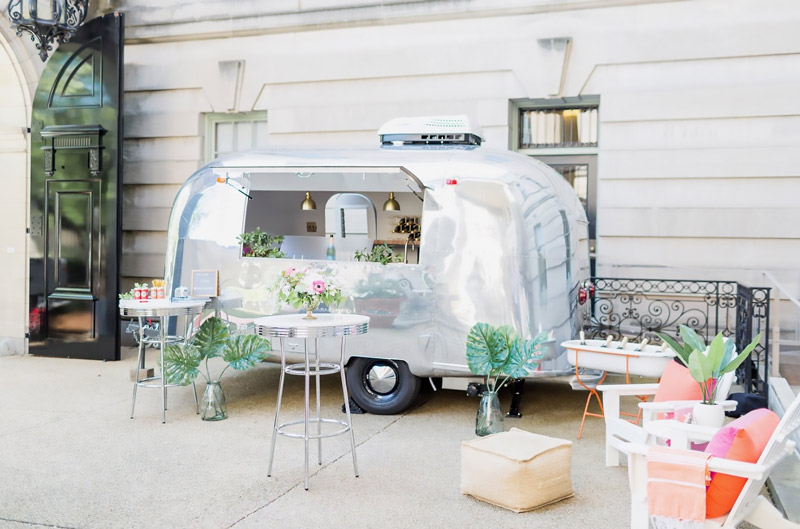 aluminum trailer - We're throwing a pre-Mother's Day happy hour unlike any other!